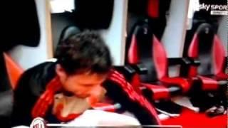 Milan-Cagliari 3-0 Spogliatoio Milan Pura Concentrazione 29-01-2012