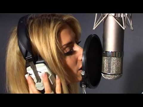 Stacey Solomon discussing her guest appearance with the Royal Air Force Squadronaires