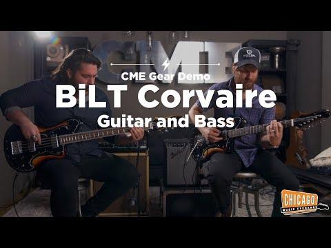 Bilt Corvaire Guitar & Bass | CME Gear Demo