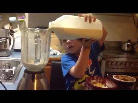How to make a chocolate thickshake