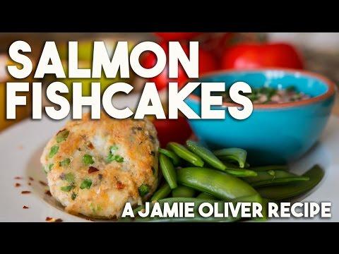Salmon Fishcakes - For Jamie Oliver's Food Revolution