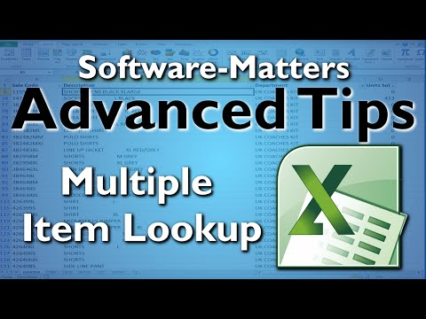 How to Perform Multiple Item Lookups in Excel (with VLOOKUP)
