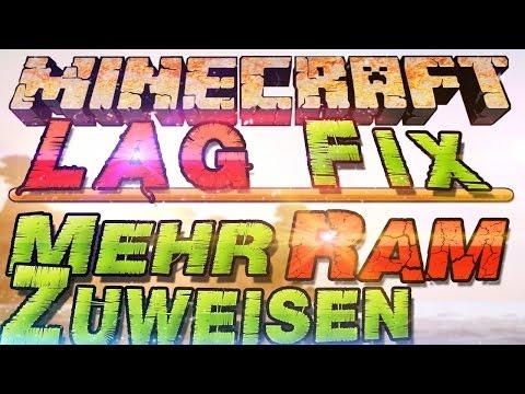 Minecraft Mehr Ram Zuweisen | Minecraft 1.11 Weniger Laggs | German Deutsch | Mac + Linux+ Windows