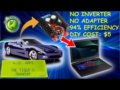 Unlimited Power for Your Laptop in Car without Adapter and Inverter - DIY