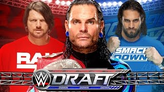 WWE DRAFT 2017 - TOP 10 SUPERSTAR SHAKEUP PICKS TO BOOST RATINGS!
