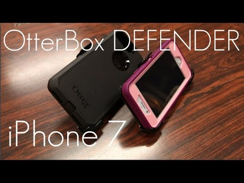Tough Protection for iPhone 7 & 7 PLUS! - OtterBox Defender Case - Initial Review/Demo