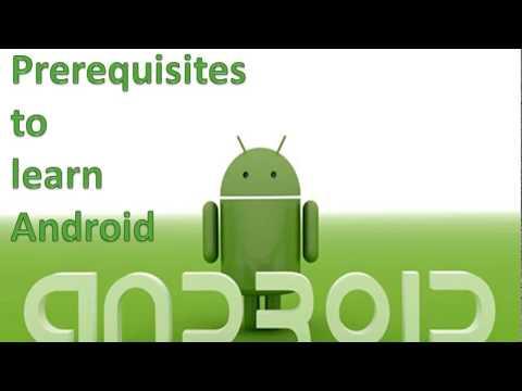 Android App Development Training Syllabus