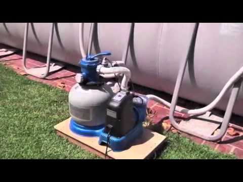 Adapting The Coleman 22x52 Pool To Intex Sand Filter Intex Sand
