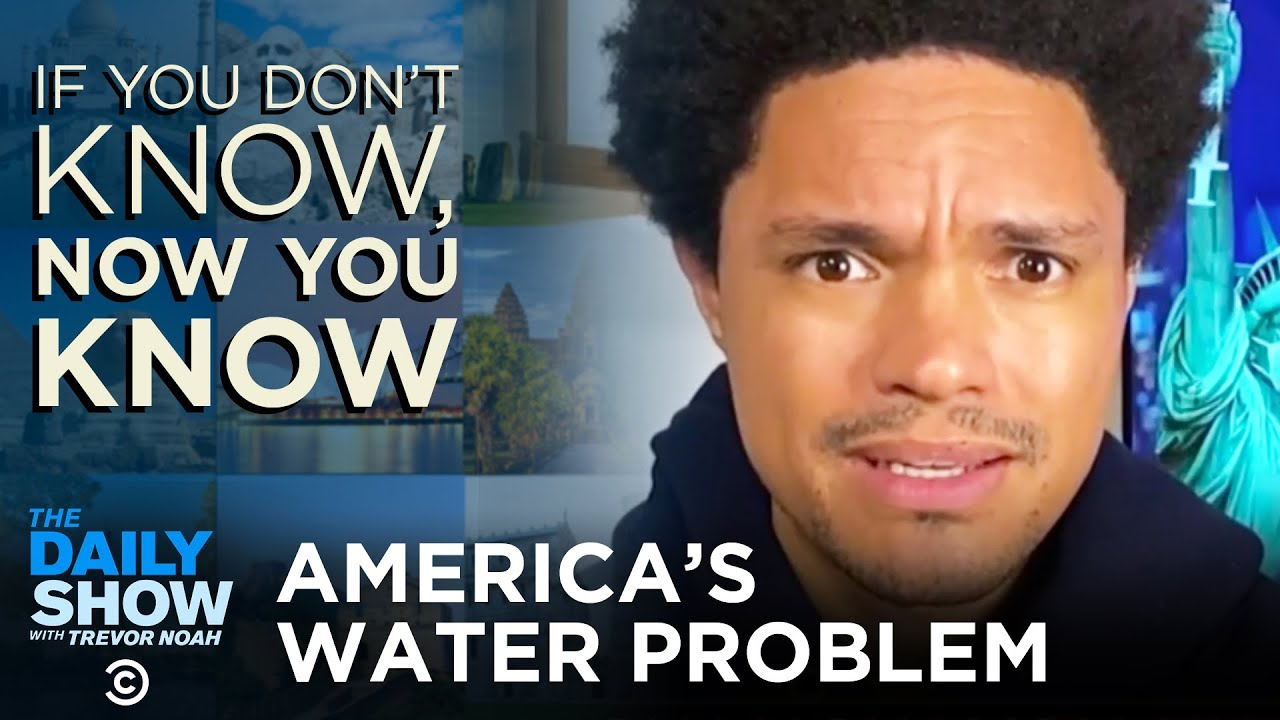 America's Failing Water Infrastructure - If You Don't Know, Now You Know | The Daily Show