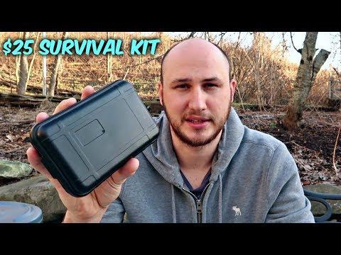 $25 Survival Kit Unboxing