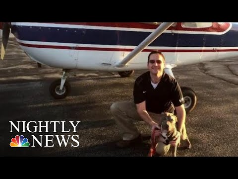 Army Veteran Flies To Save Dogs From Euthanization | NBC Nightly News