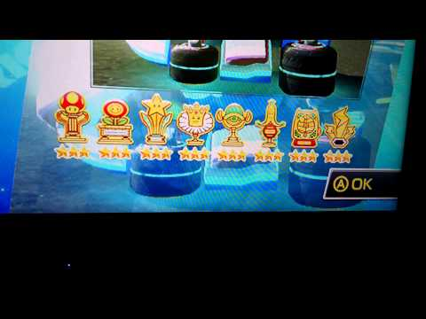 Mario Kart 8 - All Gold Everything