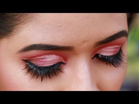 Xxx Mp4 Soft Pink Monotone Glitter Cut Crease Eye Makeup 3gp Sex