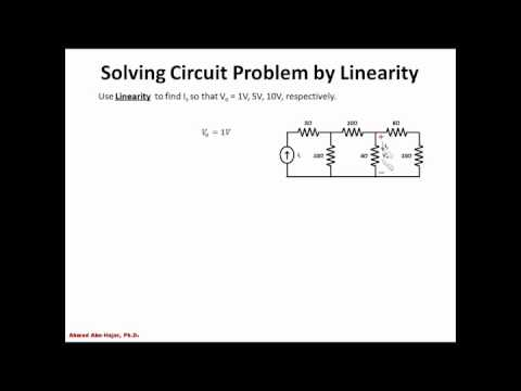 Electric Circuit Problem - Linearity