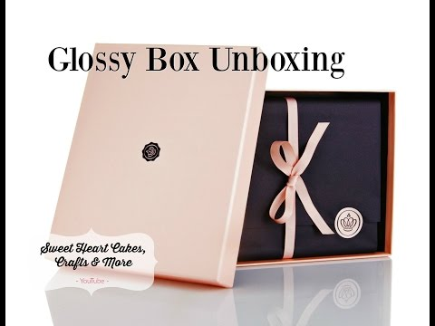 Glossy Box October 16 unboxing beauty subscription