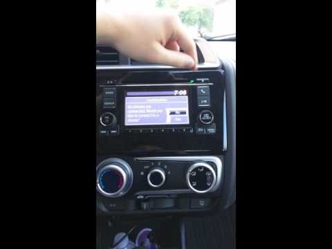 How to delete and re-pair Bluetooth devices on the 2016 Honda Fit