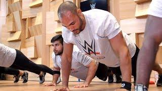Go inside WWE
