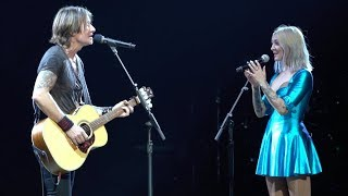 "Keith Urban & Julia Michaels - ""Lie To Me"" LIVE from the Graffiti U World Tour - 5 Seconds of Summer"