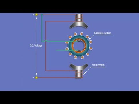 The Working Principle of D.C Shunt Motor