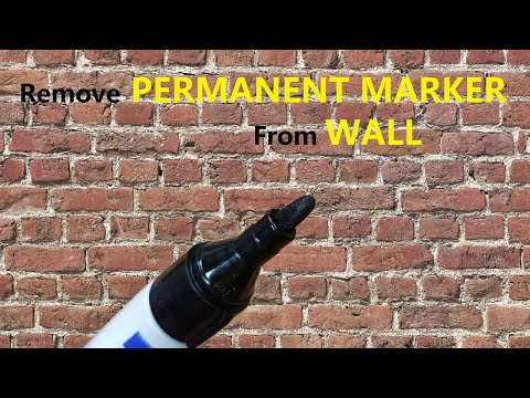 How to Remove Permanent Marker from Wall