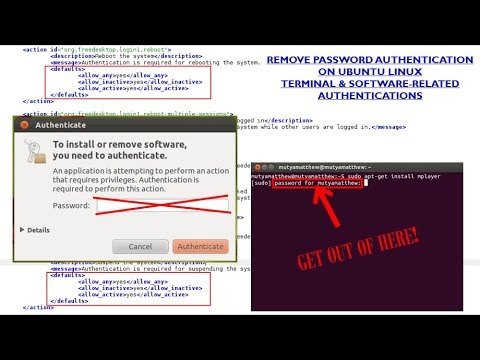 Remove password authentication on Ubuntu Linux