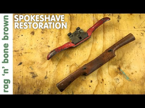 Restoring Two Old Spokeshaves