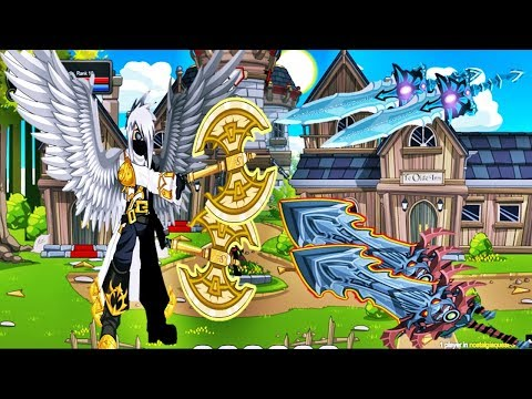 [AQW] NOSTALGIAQUEST GETTING DUAL BLOD AND THE BEST WEAPONS NULGATH + RARE SHOPS EXCLUSIVE!