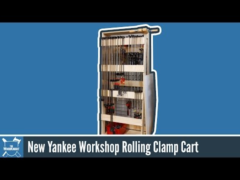 How To Make A Rolling Clamp Rack (New Yankee Workshop)