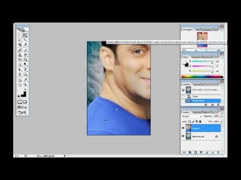 How to change photos Background in adobe photo shop cs2