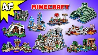 Every Lego Minecraft 2017 Set - Complete Collection!
