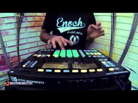 Making the Beat Ep. 24 w Maschine Studio (Live Freestyle)