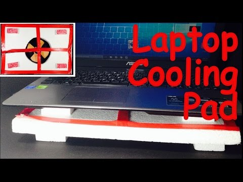 How to Make a COOLING PAD for LAPTOP at HOME