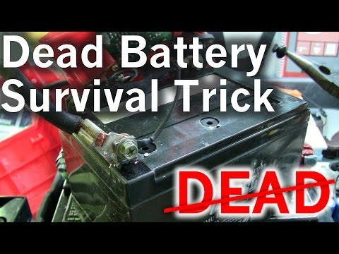 A Little Survival Trick to Revive Your Dead Lead Acid Battery for Free