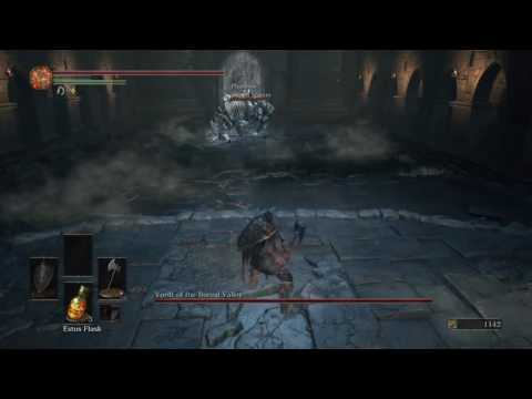 DARK SOULS III (PS4) - Vordt of the Boreal Valley with Sword Master Summon