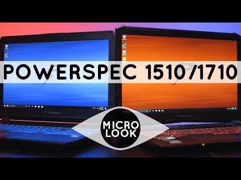 PowerSpec 1510 & 1710 Gaming Laptops