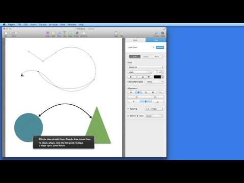 Pages for Mac Tutorial: Shapes & Lines