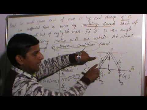 Numerical solutions of Charge & coulomb's Law