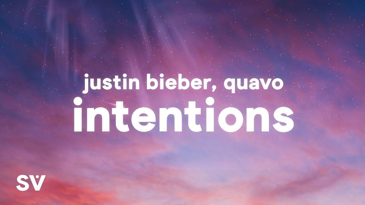 "Justin Bieber - Intentions "" ft. Quavo"