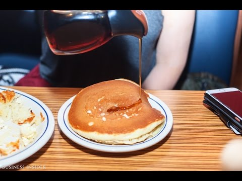 Time-lapse Of IHOP's 'All You Can Eat Pancakes' For 5 Hours