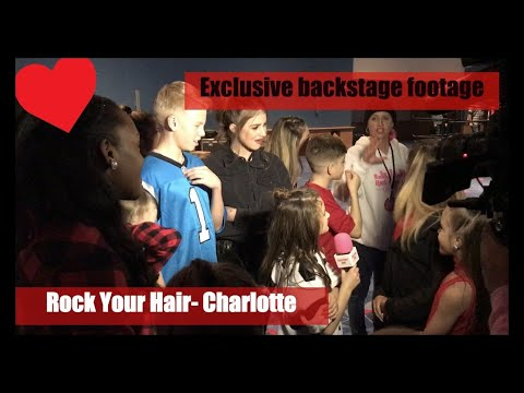 Rock Your Hair Concert- Charlotte- exclusive backstage footage-Smith Family Circus