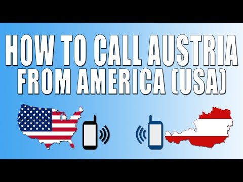 How To Call Austria From America (USA)