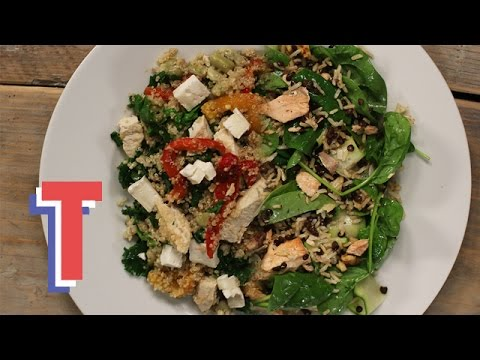 How To Make The Ultimate Salad Bowl | Food By Numbers