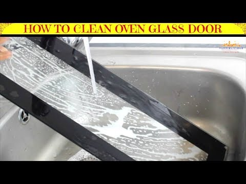 How to Remove & Clean Oven Glass Door | How to Clean Inside Oven Doors