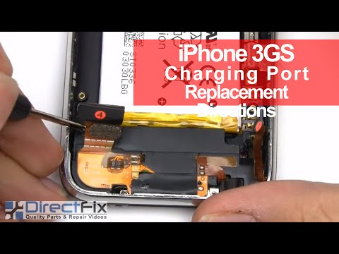 How to fix the iPhone 3gs Charging Port