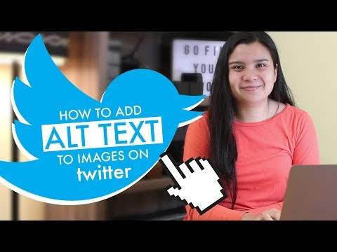 How to add ALT text to images on Twitter