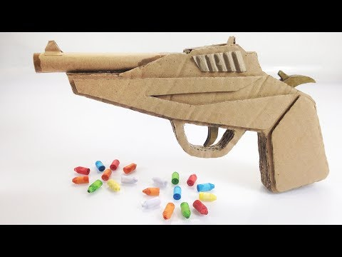 How to make Cardboard Pistol That Sh00ts
