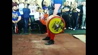 405kg/891lbs Deadlift - Andrey Malanichev - To Total 1115kg/2453lbs!