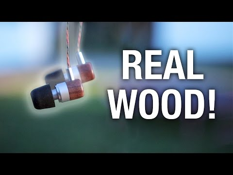REAL WOOD Earbuds for $60? Audbos Earbuds Review!