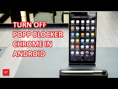 How to turn off popup blocker in Chrome (For android device)