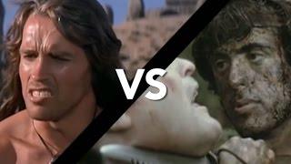 Arnold Schwarzenegger Vs. Sylvester Stallone
